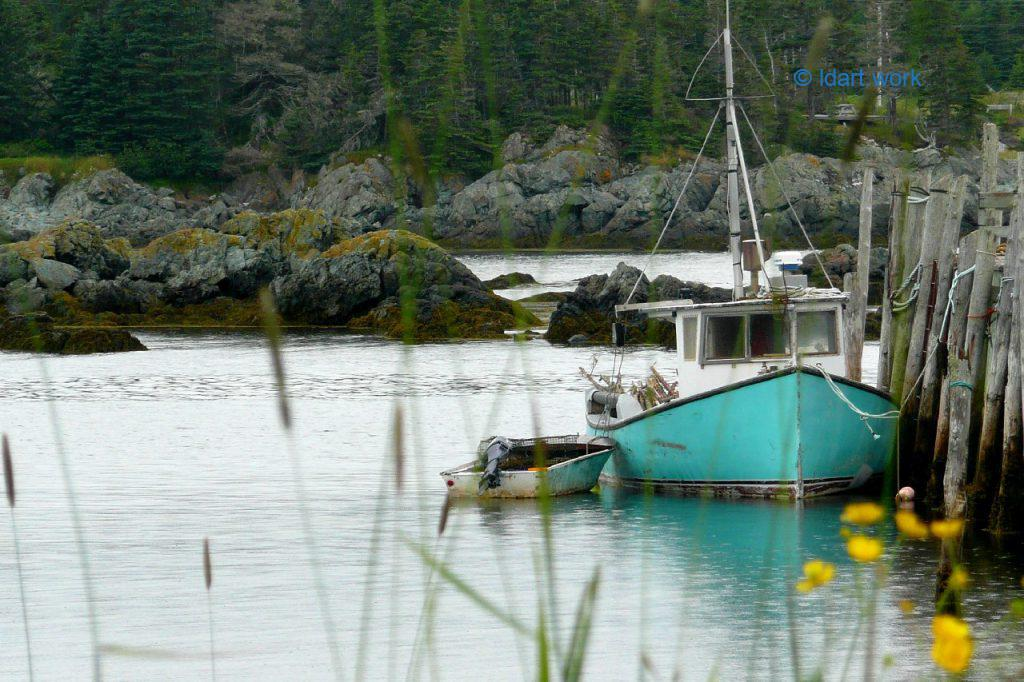 photo of a boat, White Head Island