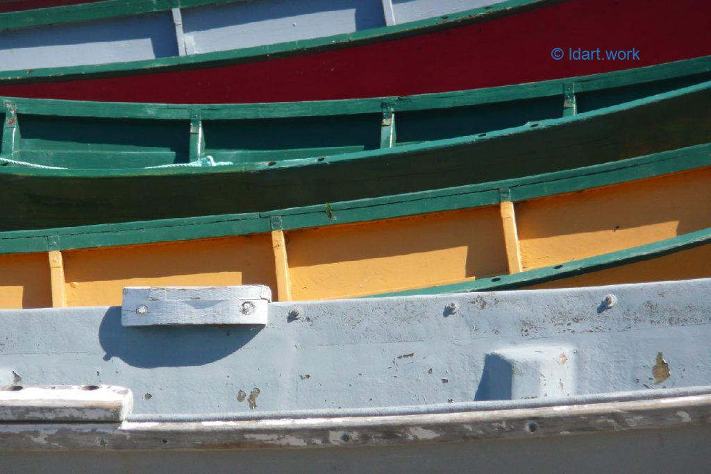dories, Grand Manan Island photo