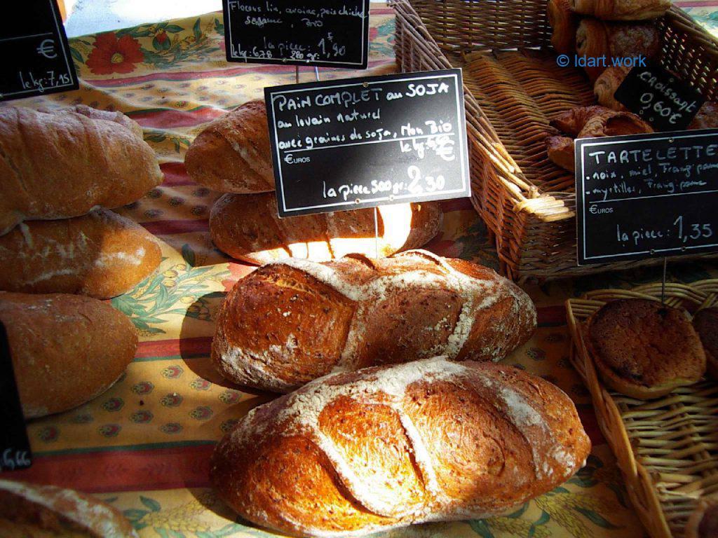 photo de pain, France