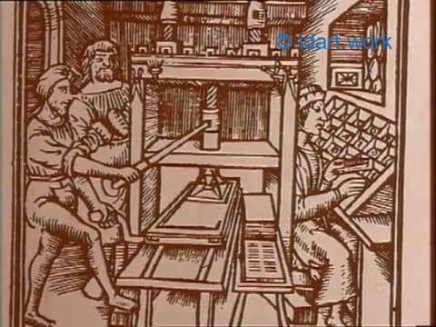 History of printing relief techniq