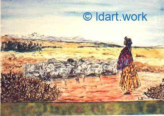 Watercolors-Aquarelles 1995-2000 11