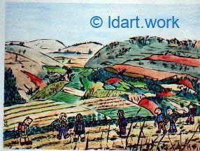 Watercolors-Aquarelles 1995-2000 2