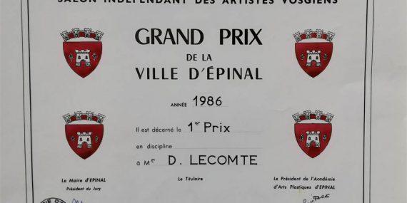 awards-prix 1986