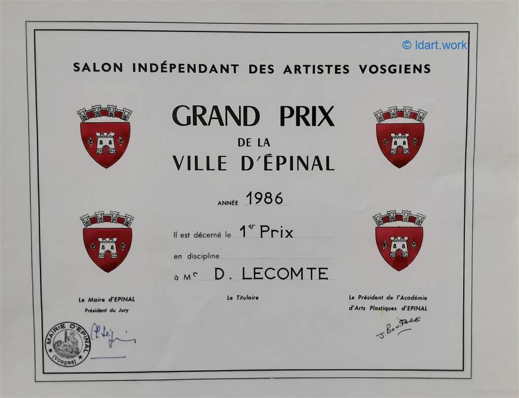 2 Awards-Prix | 1986 | France 1