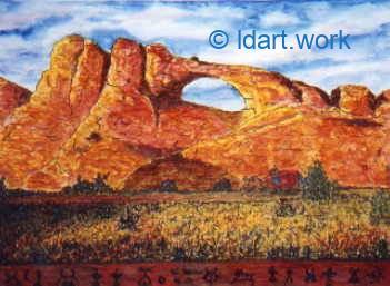 Watercolors-Aquarelles 1995-2000 15