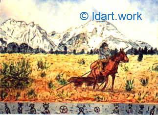Watercolors-Aquarelles 1995-2000 16