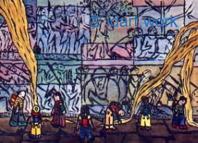 Watercolors-Aquarelles 1995-2000 9
