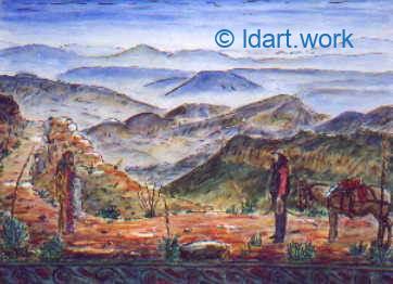 Watercolors-Aquarelles 1995-2000 18