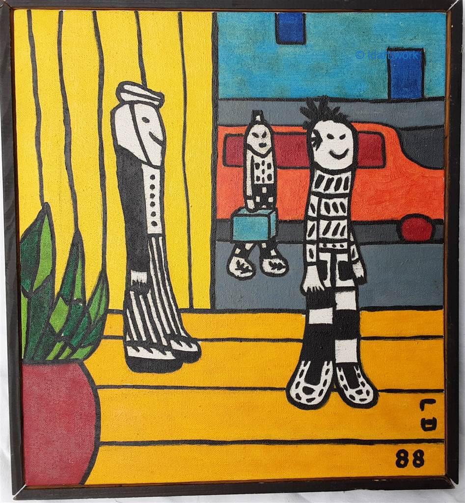 Paintings-Peintures 1980-1992 17
