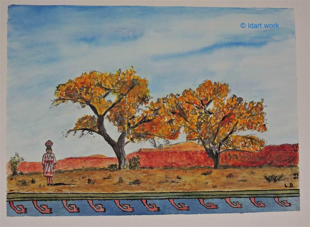 Watercolors-Aquarelles 1995-2000 19