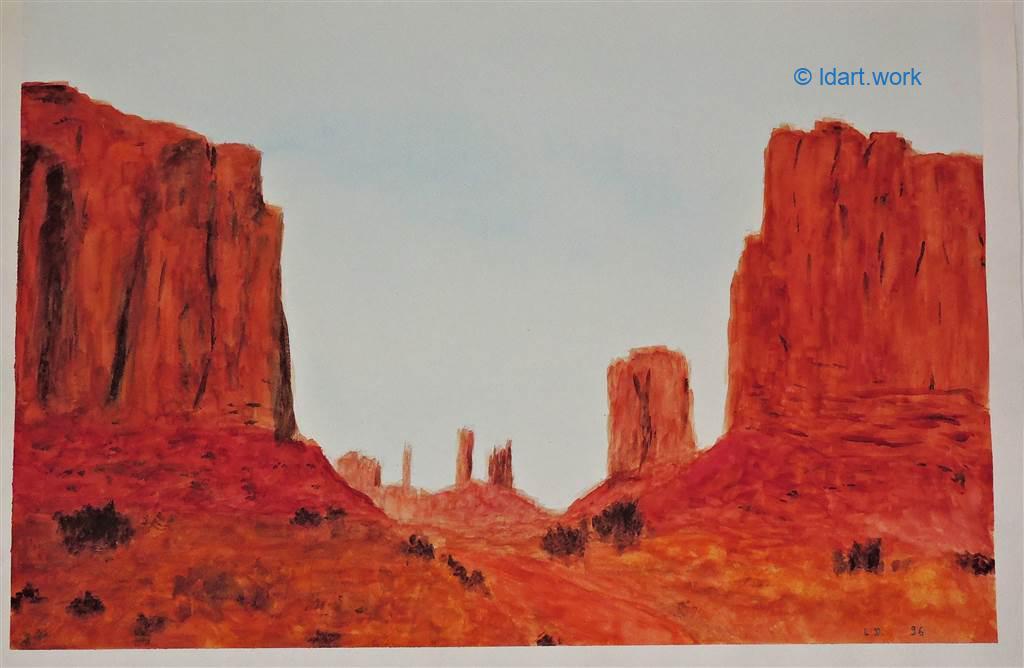 Watercolors-Aquarelles 1995-2000 22