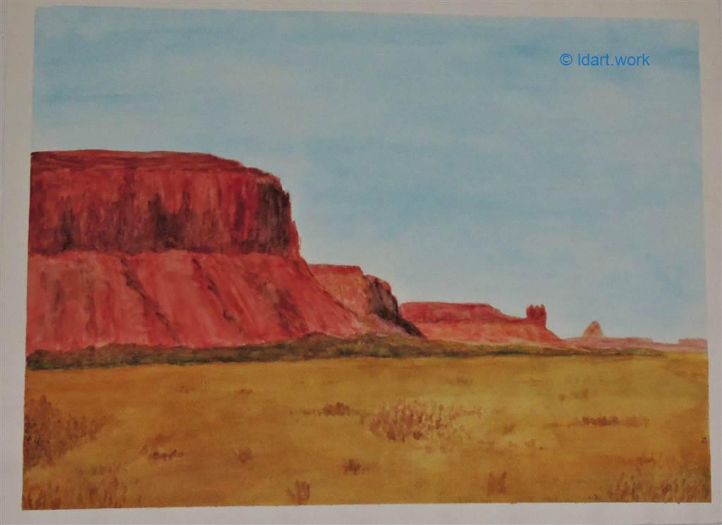 Watercolors-Aquarelles 1995-2000 23