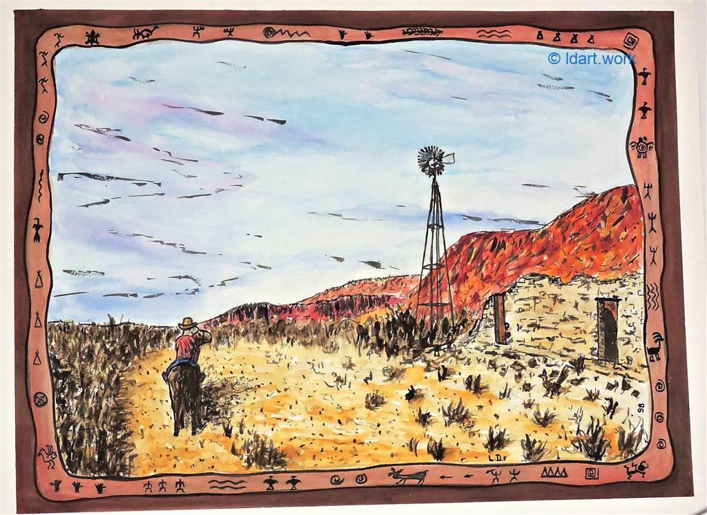 Watercolors-Aquarelles 1995-2000 24