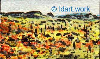 Watercolors-Aquarelles 1995-2000 29